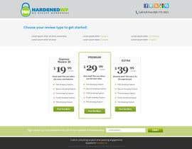 nº 24 pour Design a Website Mockup for Hardenedwp.com par tania06