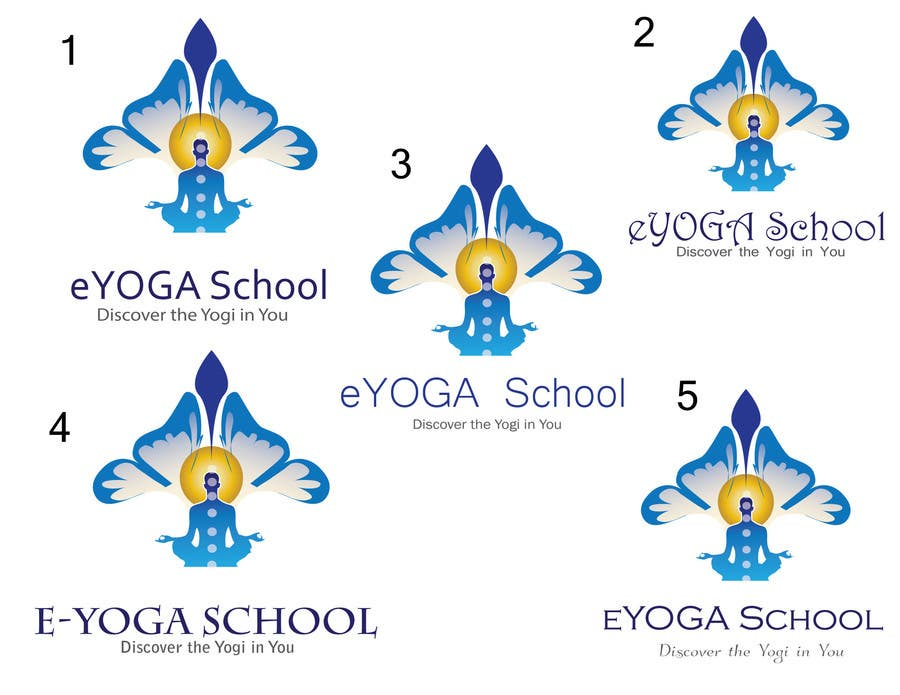 Entry 143 By Hillaryclint For Design A Logo For An Online Yoga Institute E Yoga School Freelancer