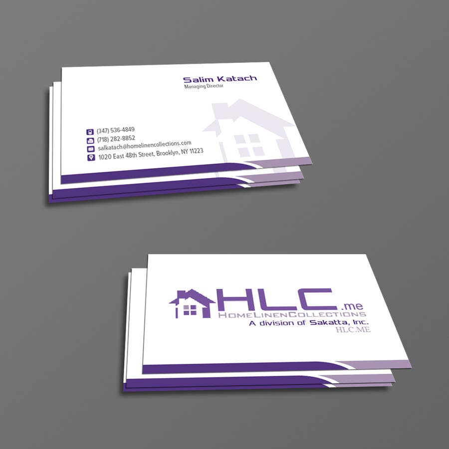 Entry 19 By Kousik851 For Design Some Business Cards For Co Owner