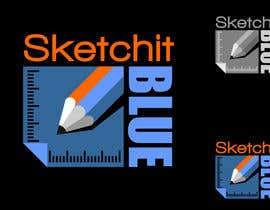 nº 329 pour Logo Design for Sketch It Blue par dimitarstoykov