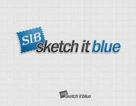 dashclicker tarafından Logo Design for Sketch It Blue için no 355