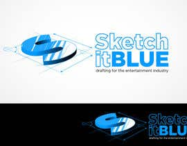 nº 646 pour Logo Design for Sketch It Blue par Glukowze