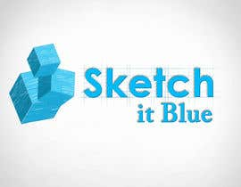 #404 untuk Logo Design for Sketch It Blue oleh Raenessest