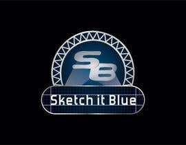 nº 311 pour Logo Design for Sketch It Blue par PeterMozharov86