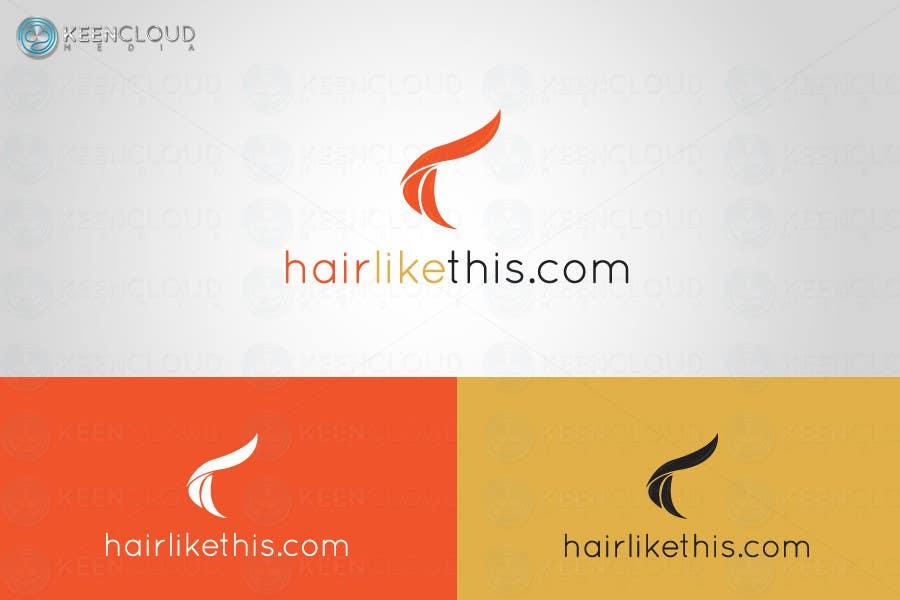 Proposition n°                                        19                                      du concours                                         Logo Design for HairLikeThis.com