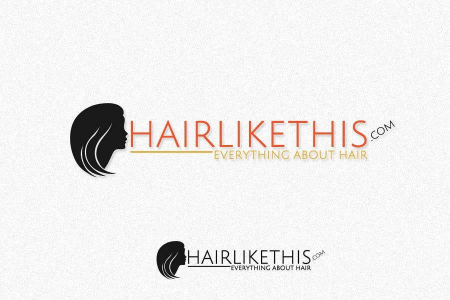 Contest Entry #112 for Logo Design for HairLikeThis.com
