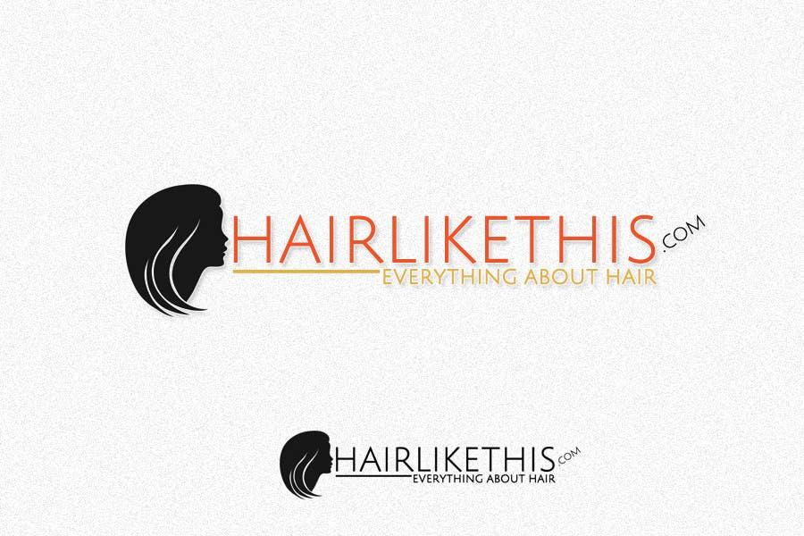 Proposition n°                                        112                                      du concours                                         Logo Design for HairLikeThis.com