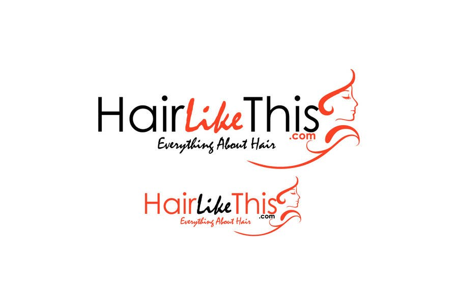 Proposition n°                                        130                                      du concours                                         Logo Design for HairLikeThis.com