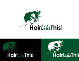 #84 for Logo Design for HairLikeThis.com af logoustaad