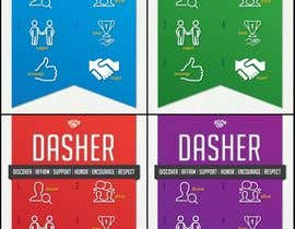 #18 untuk I need some Graphic Design for DASHER image and design. oleh ladeanneg