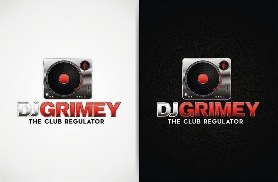 """Inscrição nº 109 do Concurso para Logo Design for Dj Grimey """"The Club Regulator""""!"""