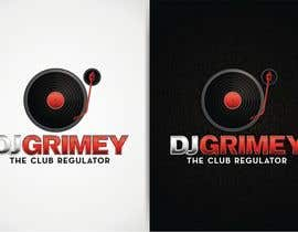 "#108 para Logo Design for Dj Grimey ""The Club Regulator""! por flov"