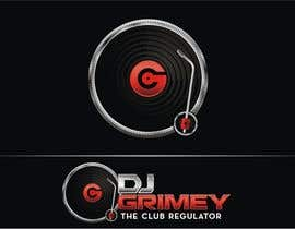 "#156 para Logo Design for Dj Grimey ""The Club Regulator""! por flov"