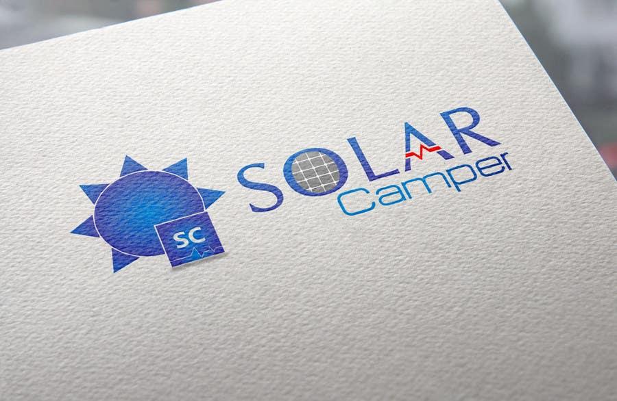 Inscrição nº                                         42                                      do Concurso para                                         Design a Logo for Solar Camper