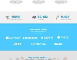 #5 untuk Design a Website for Fresh Talent oleh junaidiey