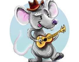 lucidream tarafından Illustrate a cute, little, mouse holding a ukulele. için no 16