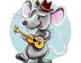 lucidream tarafından Illustrate a cute, little, mouse holding a ukulele. için no 21