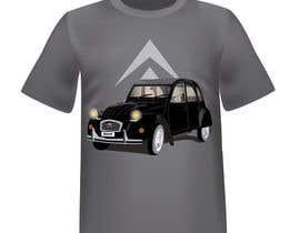 nº 5 pour Design t-shirt 2cv par ro2020
