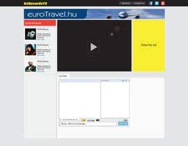 sabdulghani tarafından Design a Website Mockup for BxRecords.TV için no 3