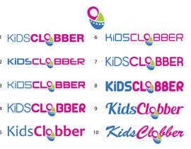 #87 para Design a logo for a website named kidsclobber.com.au por marlopax