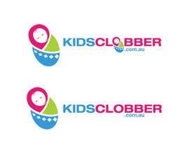 #121 para Design a logo for a website named kidsclobber.com.au por marlopax