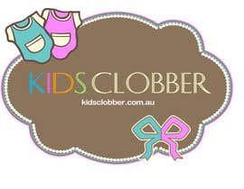 #111 para Design a logo for a website named kidsclobber.com.au por mhidayat91