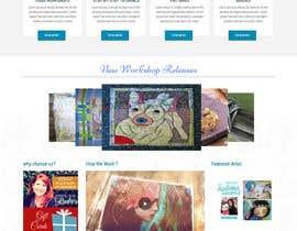 #26 para Home Page Design For www.iCreateFlix.com por lassoarts