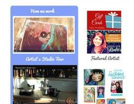 #11 para Home Page Design For www.iCreateFlix.com por ShivaniRaheja19