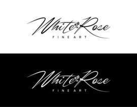 salutyte tarafından Design a Logo for White Rose Fine Art için no 140
