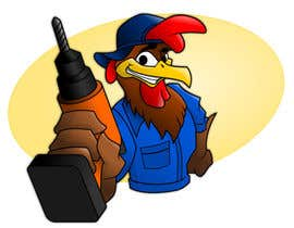 #3 para Need a Cartoon Rooster -- Cable TV Service Man Created! por GreenAndWhite