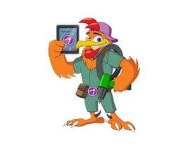 #30 untuk Need a Cartoon Rooster -- Cable TV Service Man Created! oleh mukaishpatel