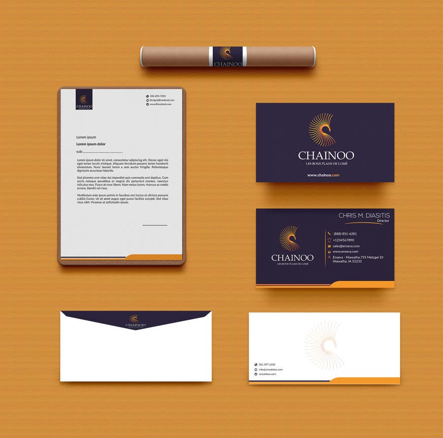 Entry #16 by Lastpixel for Letterhead, business card and envelopes ...