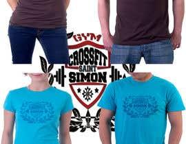 #31 for Proposez un graphisme pour un t-shirt d'une salle de CrossFit af SA2ID