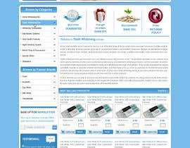 #44 untuk Website Design for Teeth Whitening Australia (Online Retailer) oleh kosmografic