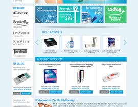 #49 untuk Website Design for Teeth Whitening Australia (Online Retailer) oleh brnbhttchry