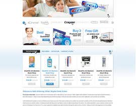 #30 para Website Design for Teeth Whitening Australia (Online Retailer) por FusionIdea
