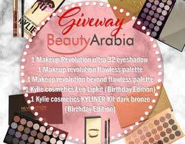 Nro 21 kilpailuun Design a give away Advertisement makeup käyttäjältä kdeluca