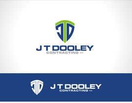 #174 untuk Design a Logo for JT Dooley Contracting oleh shobbypillai