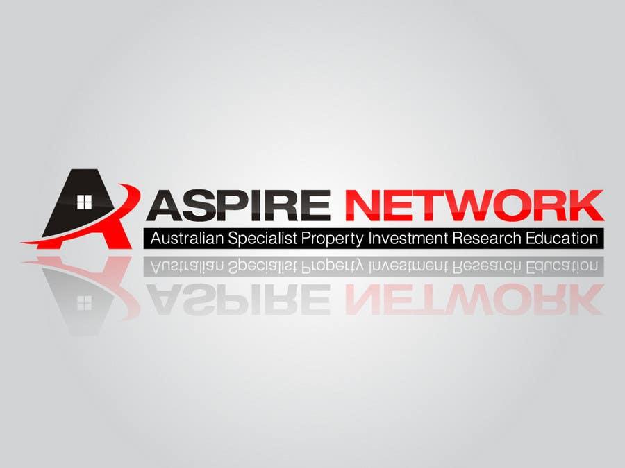 Penyertaan Peraduan #189 untuk Logo Design for ASPIRE Network