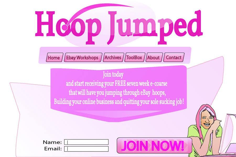 Wettbewerbs Eintrag #131 für Logo Design for Hoop Jumped