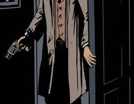 #28 untuk Horror Noir Detective Illustration oleh licarto