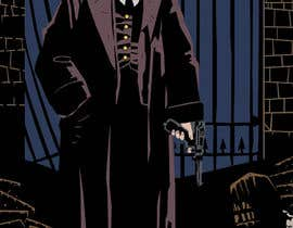 #15 untuk Horror Noir Detective Illustration oleh Faustized