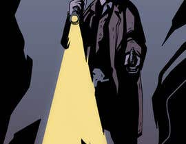 #29 untuk Horror Noir Detective Illustration oleh ElZapata