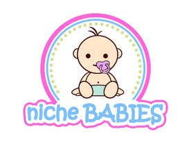 #156 for Niche Babies Logo by anazvoncica
