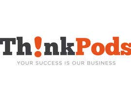 #43 untuk Logo Design for ThinkPods oleh JoGraphicDesign
