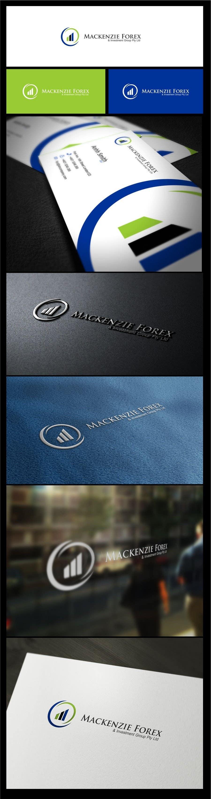 Konkurrenceindlæg #                                        128                                      for                                         Logo Design for Mackenzie Forex & Investment Group Pty Ltd