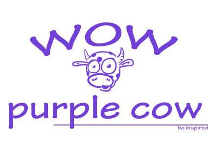 Bài tham dự cuộc thi #400 cho WOW! Purple Cow - Logo Design for wowpurplecow.com - Lots of creative freedom, Guaranteed Winner!