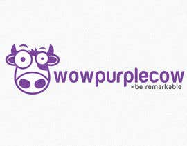 niwrek tarafından WOW! Purple Cow - Logo Design for wowpurplecow.com - Lots of creative freedom, Guaranteed Winner! için no 99