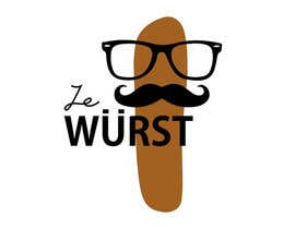 #8 for Ze Wurst Food Truck Logo af venkatjvk