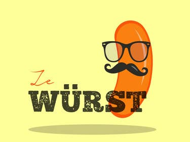#14 para Ze Wurst Food Truck Logo por chrislandaeta